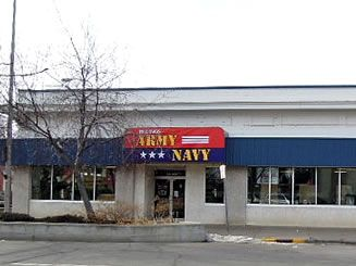 Billings Army Navy Surplus: New store location at 10 N. 29th St. Billings MT