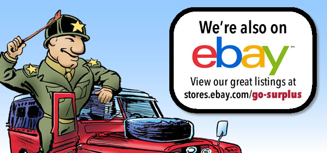We're on eBay!