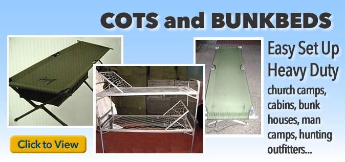 Cots-Bunkbeds