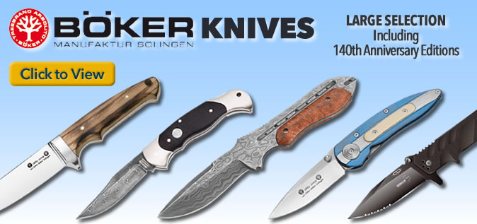 Boker knives made in Solingen, Germany