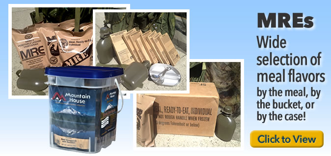 MREs (Meals Ready to Eat)