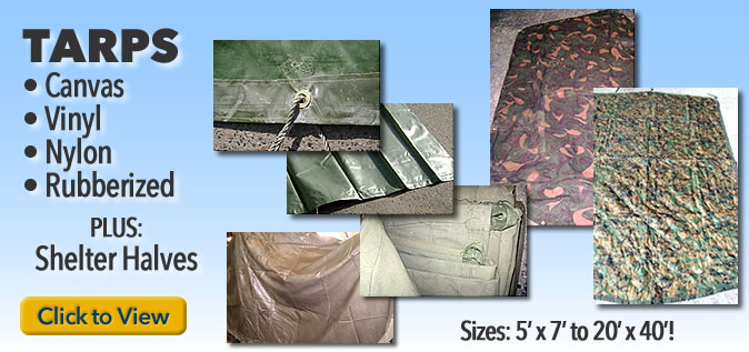 Military and Canvas Tarps
