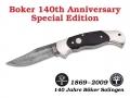 Boker 140th Anniversary