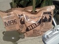 Military MREs and Food Storage