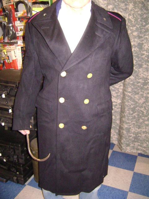 Parkas Jackets And Coats Italian Police Wool Overcoat