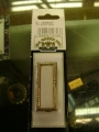 Citation Solid White with Gold Frame (10 Pack)