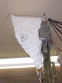 German White Parachute 3ft