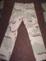 Camo BDU Pants, 3-Color Desert