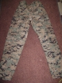 Digital BDU Pants, Green Digital