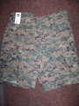 BDU Shorts, Green Digital