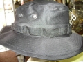 Military Boonie Hats, Black