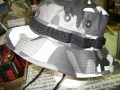 Military Boonie Hats, Urban White