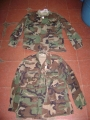 U.S. Military Woodland Camo BDU Shirts