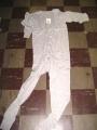 100% Cotton Gray Union Suit