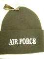Air Force Black Watch Cap