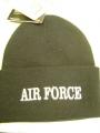 Air Force Black Watch Cap