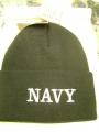 Navy Black Watch Cap