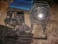 Swiss Military Spotlight with Generator 400 watts