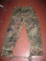 German Military Flectar Camouflage Pants