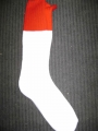 Fox River Mills Socks (White/Red)