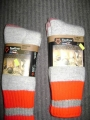 Fox River Mills Socks (Grey/Red)