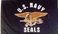 USN Seals Flag