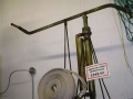 Swedish Army Brass Fire Pump with Hose