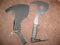 Ontario Spec Plus Battle Axe with Sheath