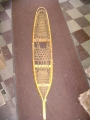 WWII Wooden and Cat-Gut Snowshoes