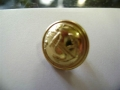 Brass Button with Anchor - 23 mm