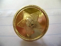 Russian Officers Button 23 mm - Brass