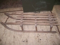WWII German Military Alpine Ammo Sled - Wood