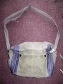 Chinese Military Canvas Shoulder Bag with Strap