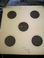 75 Ft. Small Bore Rifle Target