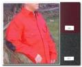Mens Long Tail Button Shirt - Gray Herringbone