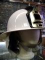 Czech Firefighter Helmet with Storage Bag