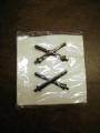 Vietnam Era Officers Field Artillery Insignia (10 Pack)