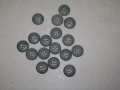 G.I. Fatigue Shirt Buttons (pack of 20)