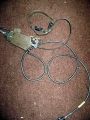 U.S. Military Vietnam Era Throat Microphone