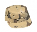 Ultra Force Six-Color Camouflage Fatigue Cap
