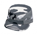 Ultra Force Urban White Camouflage Fatigue Cap