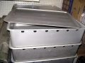 Swedish Military Aluminum Trays/Bins