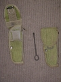 U.S. Military M-12 Holster With Cleaning Rod