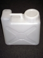 White Plastic 2-1/2 Gallon Water Container