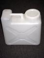White Plastic 2-1/2 Gallon Water Container