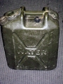 English Military Water Container