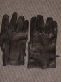 Black Leather D-3A Gloves