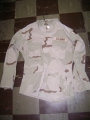 U.S. Military 3-Color Desert BDU Shirts