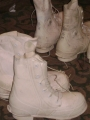 U.S. Military (Single) Bunny Boot White