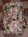 Dutch Military Camouflaged Pilot's Bag